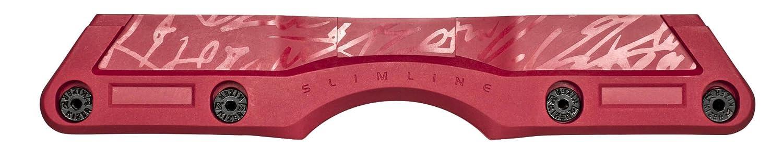 Powerslide Inline Kizer Slim Line II 800236/3 Cadre de Roue Rouge