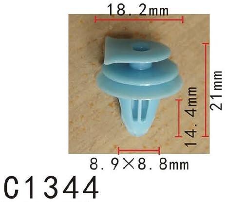 Capucha respiradero nylon clip de retención, Modelo PF-C1344 (paquete de 20)