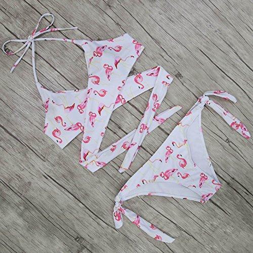 donne Eolunt Biquini Swimwear Wrap costume da Criss Costumi MZY7006P1 Sexy Bikini Bikini Cross brasiliano M Top delle Bandage bagno dello imbottito qqFBvAw