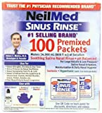 NeilMed's Sinus Rinse Pre-Mixed Packets, 100-Count Boxes (Pack of 4)