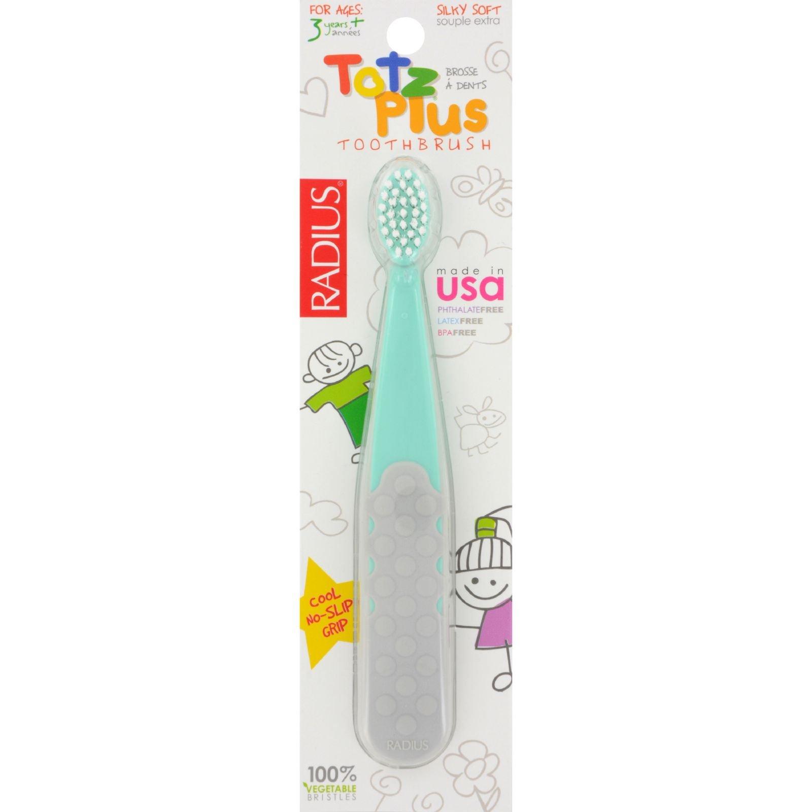 Radius Toothbrush Totz Plus Silky Soft (6 Pack) by RADIUS (Image #1)
