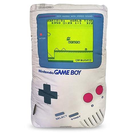 0b66f49778329e Almofada Geek Personalizada Game Boy ''Sleep Yes or No''.: Amazon ...