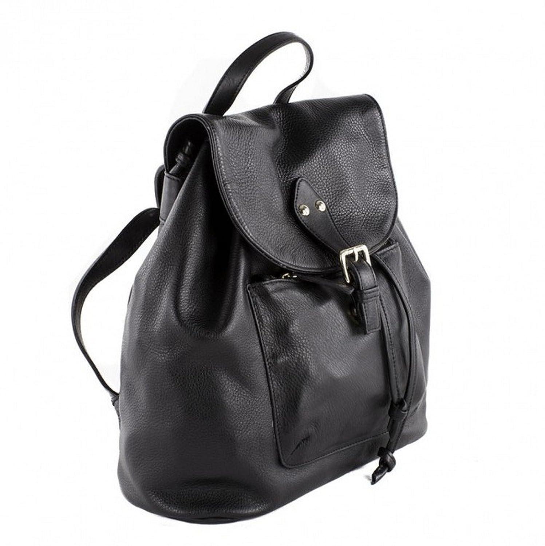 Handbag, Brenda?black,?genuine leather, Dimensions in cm: 37 l x 34 h x 15 p, Anna Cecere