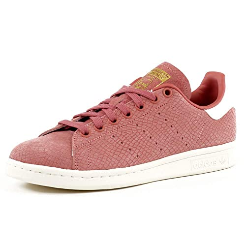 Adidas Stan Smith W, Zapatillas de Deporte para Mujer, Rosa (Roscen/Roscen/Casbla 000), 37 1/3 EU: Amazon.es: Zapatos y complementos