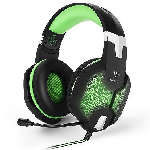 52 opinioni per EasySMX G1000 Wired PC Gaming Headset con Microfono mic 3.5mm Audio Plug