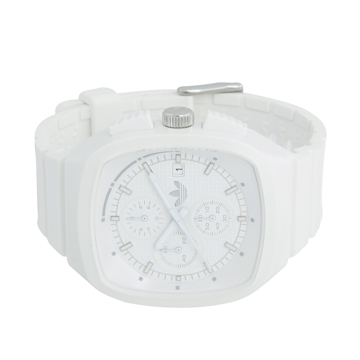 Amazon.com: Adidas Toronto Originals White Chronograph Unisex Watch ADH2122: Adidas: Watches