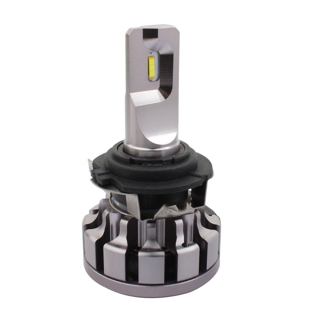 TOMALL H7 LED Retenedores de faros Retenedores Adaptador para VW Passat Touareg SAAB Mercedes Benz B Clase ML