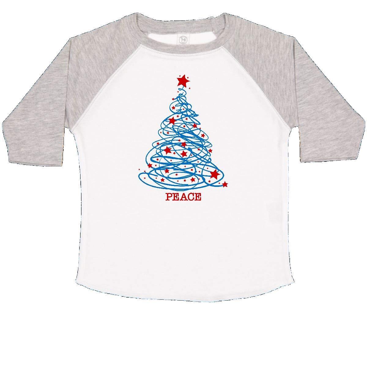 inktastic Patriotic Christmas Tree Toddler T-Shirt