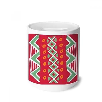 DIYthinker Red México Totems Civilización Antigua Sacar Dinero de la Caja Cajas de Ahorro de cerámica Adultos Moneda de la Caja para niños: Amazon.es: ...