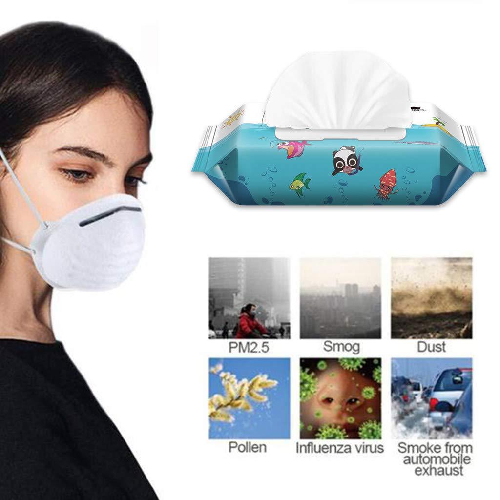 URSING Baby Feuchtt/ücher sanfte Pfleget/ücher Antibakterielle f/ür zarte und empfindliche Babyhaut geeignet 1er Pack 1x60 in wiederverschlie/ßbarem Soft-Pack 1 x 60