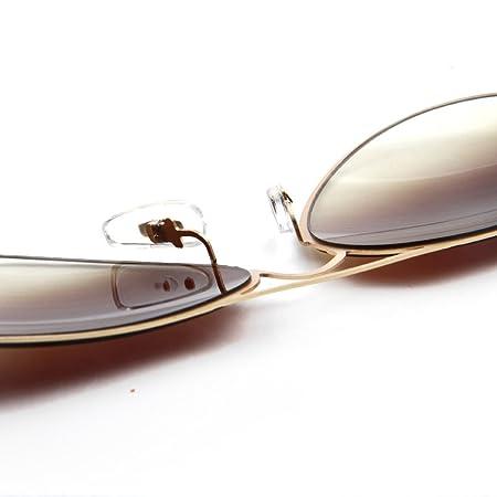 Wkaijc Blitz Hübsch Dünner Stahl Sonnenbrille Blendend Farbe Art Und Weise Individualität Komfort Sonnenbrille,B