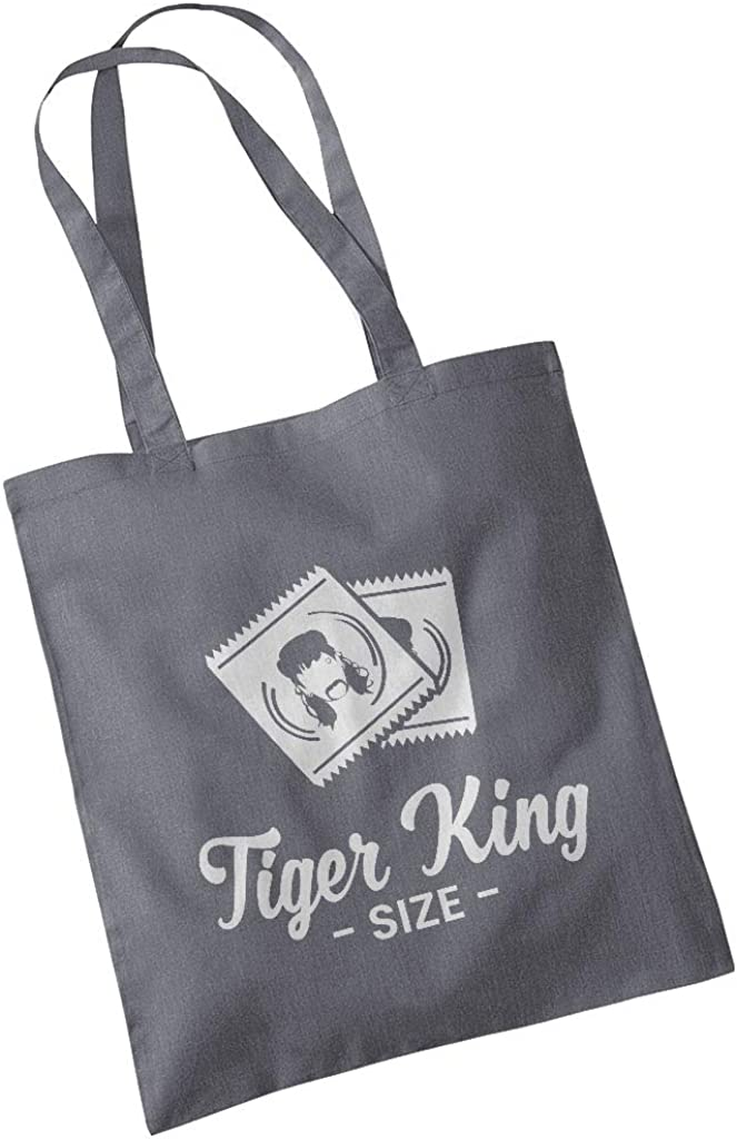 Tiger King Size Joe Exotic Condoms Totebag