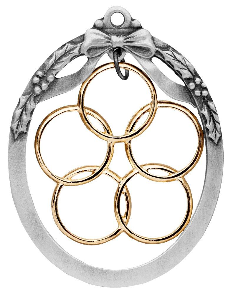 da7f96bb Five Golden Rings Ornament
