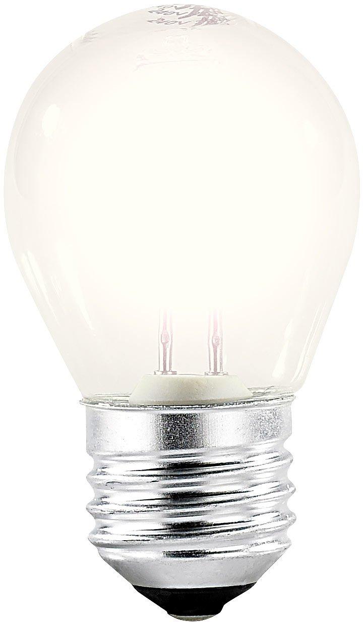 Luminea Halogenglühbirne: Halogen Light Bulbs Lamps, G45E2728W 370lumen, Warm White (E27)