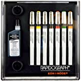 Rapidograph 7-Pen Tech Pen Set