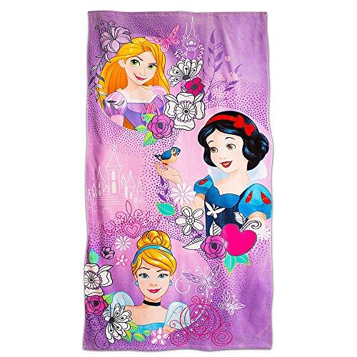 Disney Princess Beach Towel - Purple