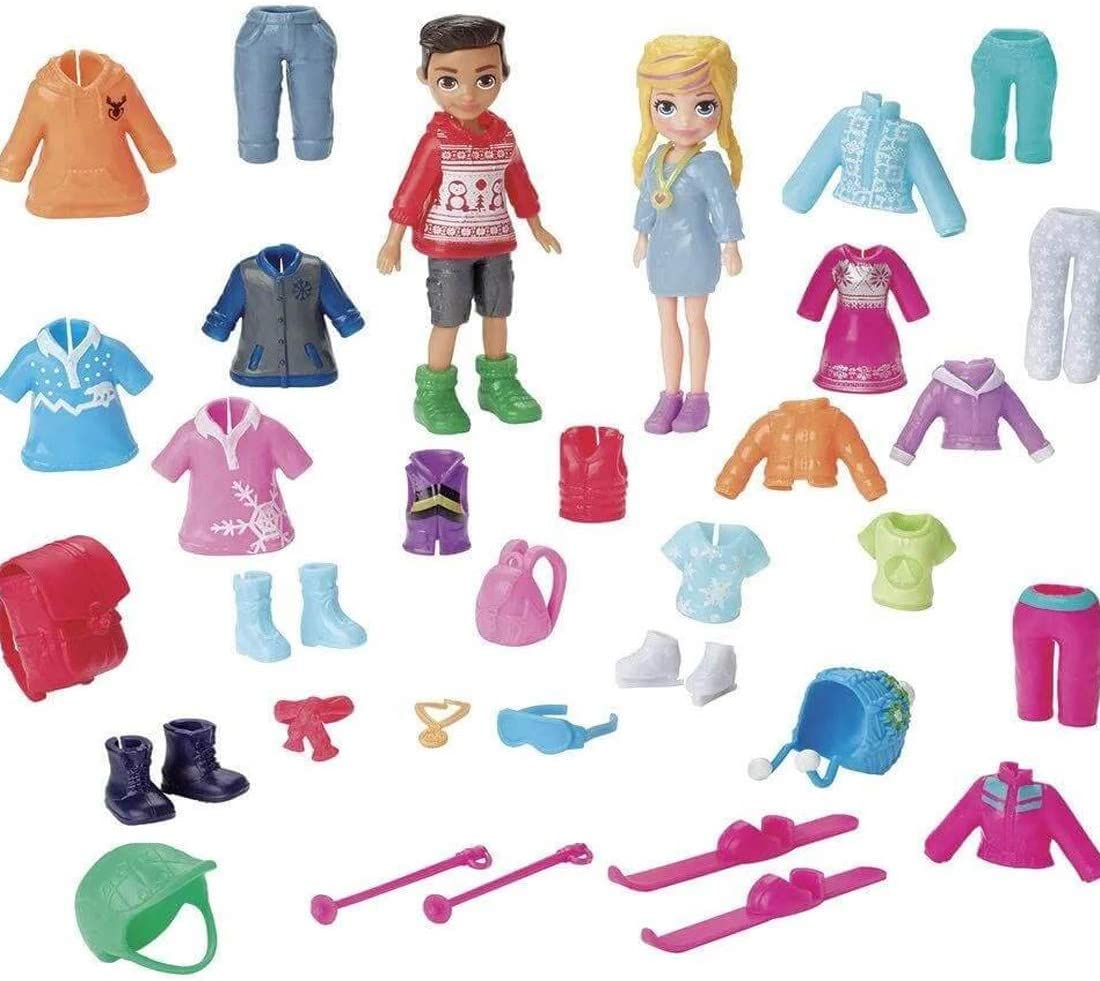 Mattel Polly Pocket Snow Style Fashion Pack