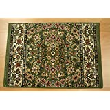 """Shadows SHA08 Olive Custom Carpet Hallway and Stair Runner - 31"""" x 32 ft Finished Runner"""