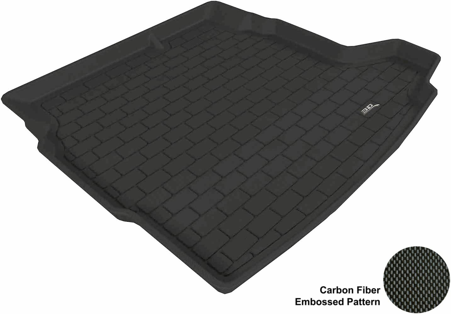 3D MAXpider Cargo Custom Fit All-Weather Floor Mat for Select Saab 9-3 Wagon Models M1SA0021302 Tan Kagu Rubber