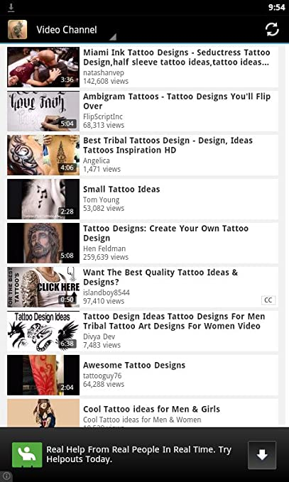Amazon Com Tattoo Design Master Appstore For Android