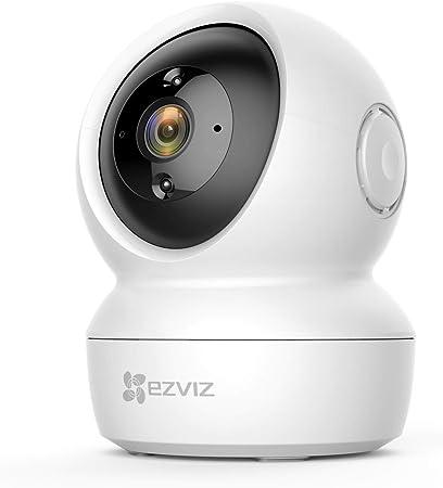 EZVIZ C6N Camara IP WiFi de vigilancia. FHD 1080P. Cámara Domo Interior 360º. PTZ. Vision Nocturna, deteccion de Movimiento, Audio bidireccional. Compatible con Alexa y Google. Andriod/iOS: Amazon.es: Electrónica