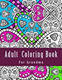 img - for Adult Coloring Book For Grandma book / textbook / text book