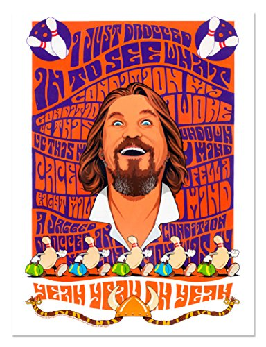 CONDITION The Big Lebowski Limited Edition Fine Art Lithograph Print by Dave Nestler