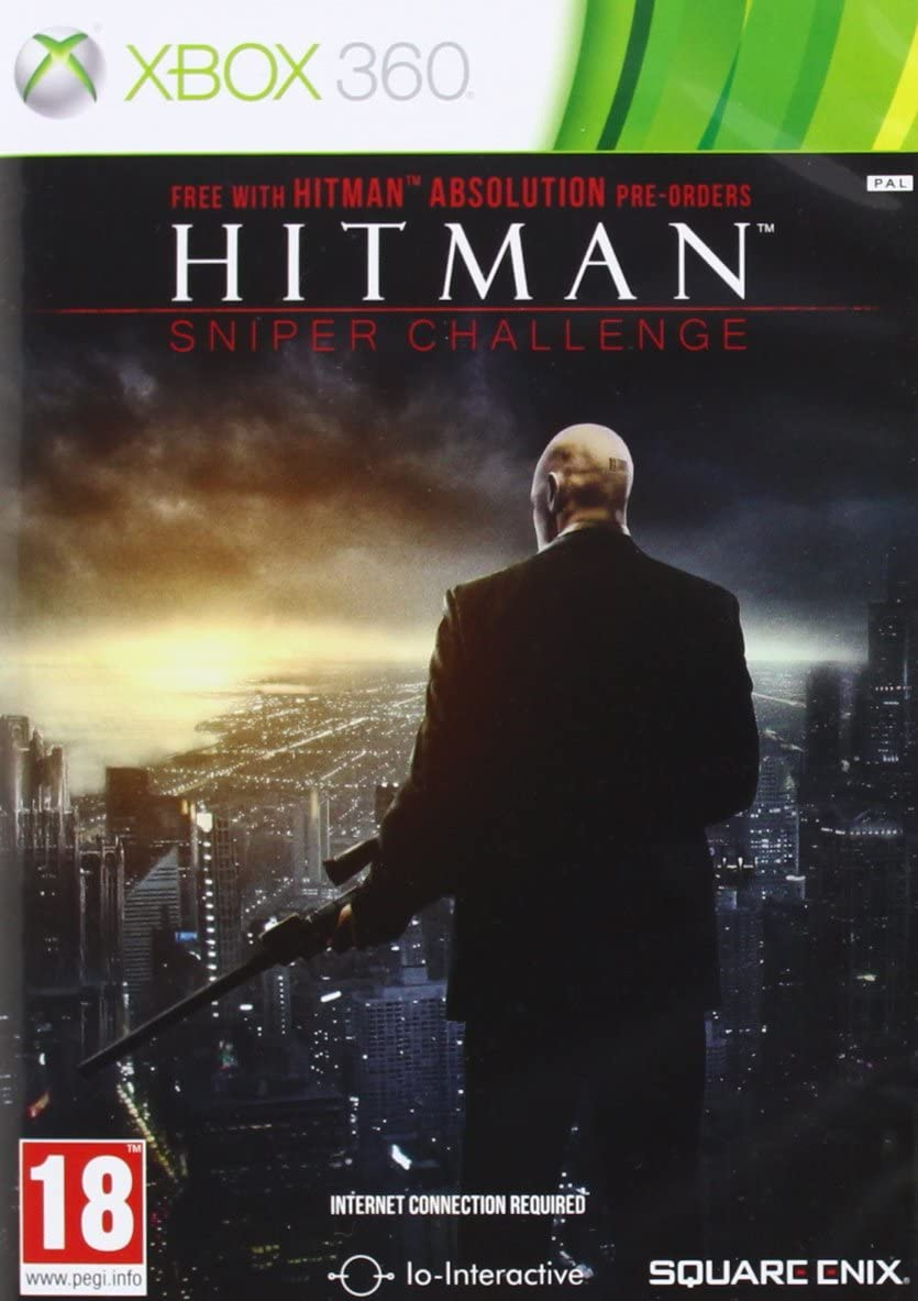 Hitman Absolution Sniper Challenge Xbox 360 Amazon Co Uk Pc Video Games