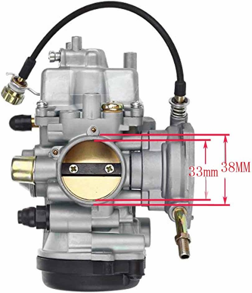 Bruin 350 Parts Carburetor Oil//Air Filer for Yamaha GRIZZLY 350 YFM 350 YFM350 2004 2005 2006 2007 2008 2009 2010 2011 2x4 4x4 Carb NEW