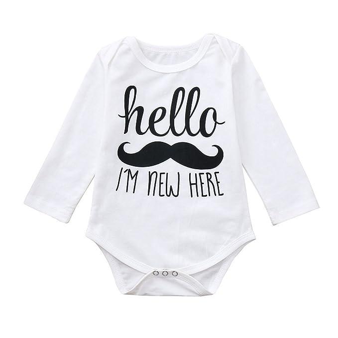 Bebé Mono, ASHOP Recién Nacido Bebé Mono Niña Niño Carta de ...
