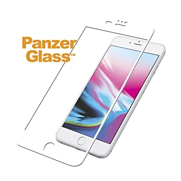 eee6ffe5bdd PanzerGlass 2621 - Protector de Pantalla para Apple iPhone 6s Plus/ 7 Plus,  Color Blanco: Amazon.es: Electrónica