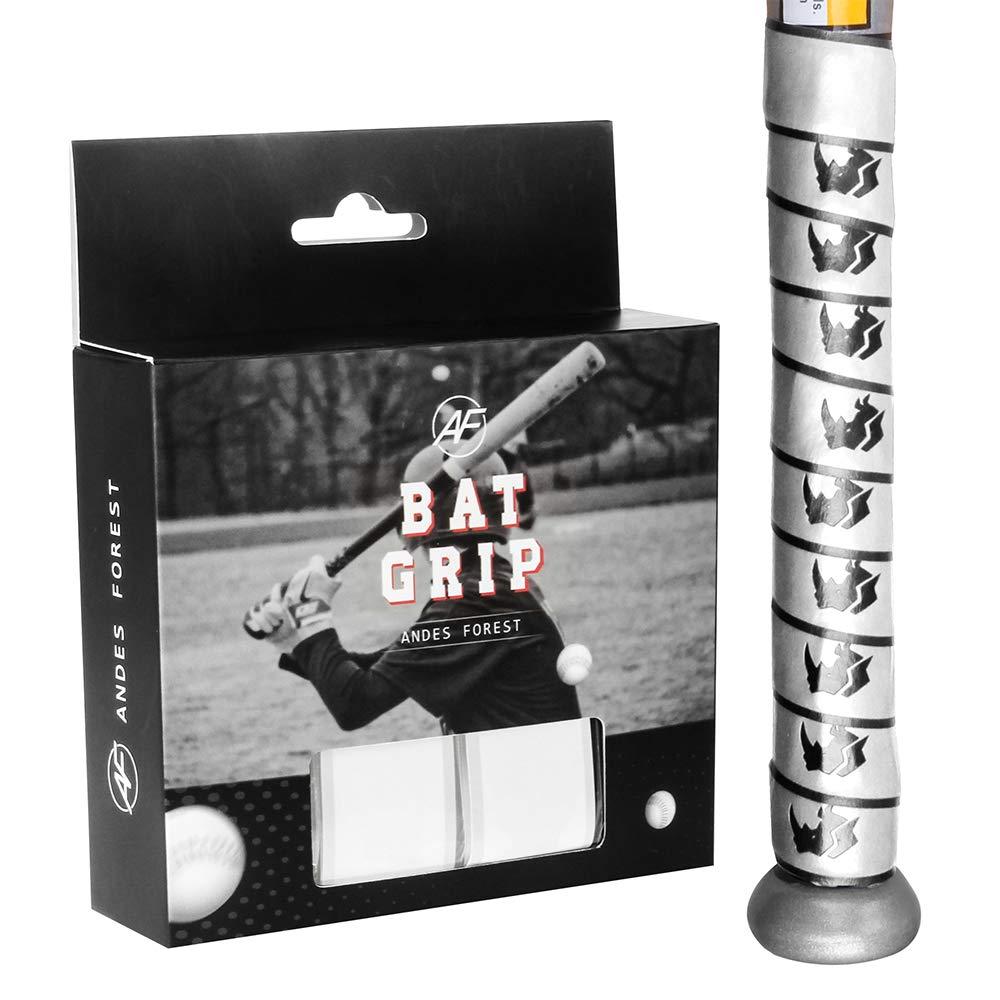 ANDES FOREST Schl/ägergriff Rhino Serie 1,5 mm f/ür Baseball 4 St/ück in 1 Packung