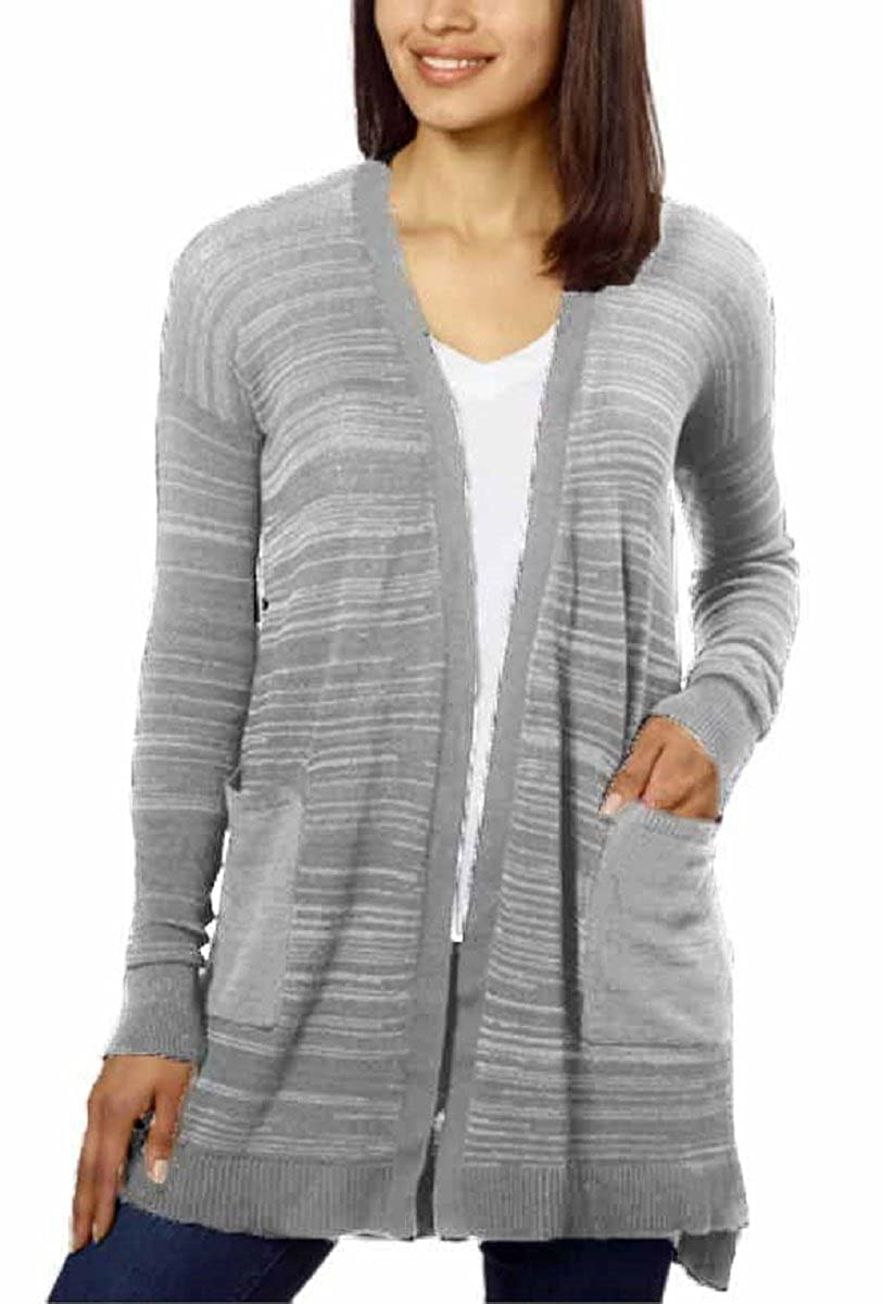 Calvin Klein Jeans Ladies' Long Cardigan at Amazon Women's ...