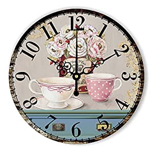 Y Hui Watch A Box To The Wall Clock Living Room Silent Quartz Clock Decorative Wall