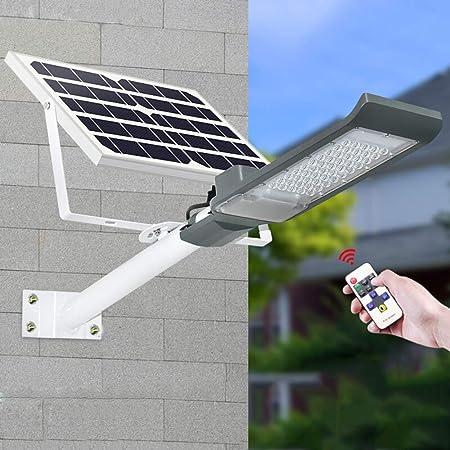 APICK Lámparas Solares LED Ultra Brillante Farola Solar Exterior Impermeable Control De Luz Inteligente con Soporte Ajustable Y Control Remoto para Calle,Patio,jardín Etc. (1 Pack),30W: Amazon.es: Hogar