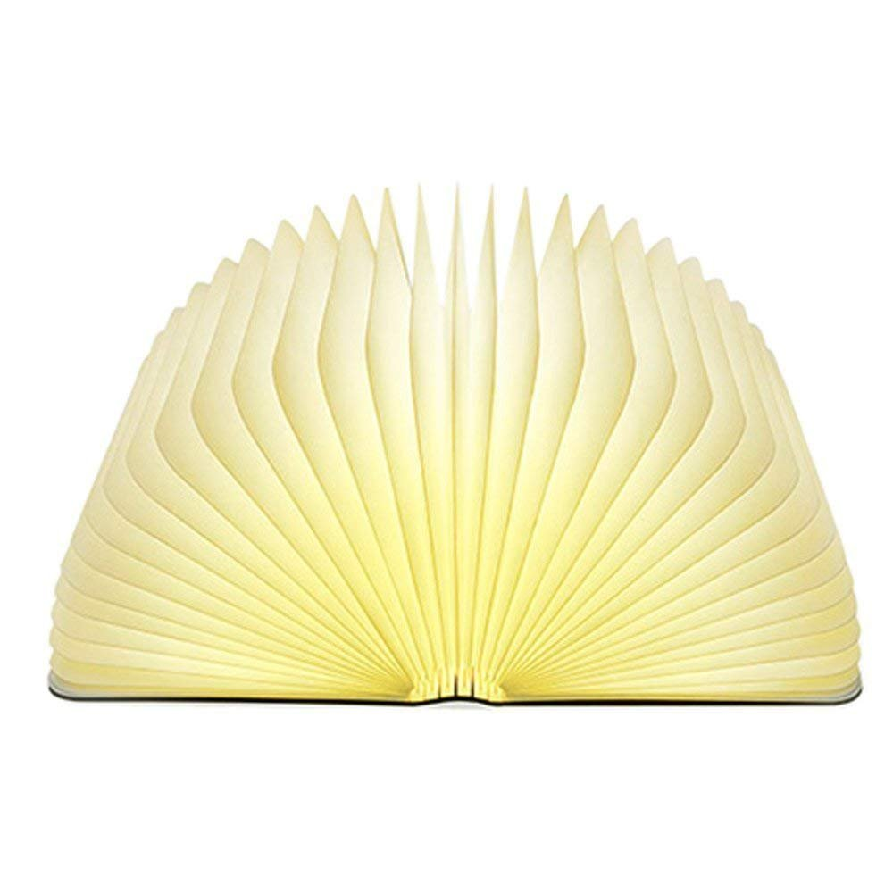 Nanle Creative book light LED Rechargeable Folding 4.5W 500LM table lamp Changeable Shape Bedside Lamp Practical and Beautiful Lighting Fixture Indoor Use