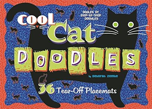 Cool Cat Doodles (Doodle Placemats)