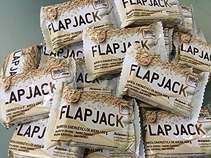 Barritas energeticas Flap Jack 32 uds 100g. sabor Avena-yogur