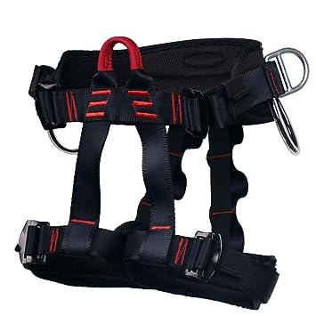 HandAcc Arnés de Escalada, cinturón de Seguridad Profesional para ...