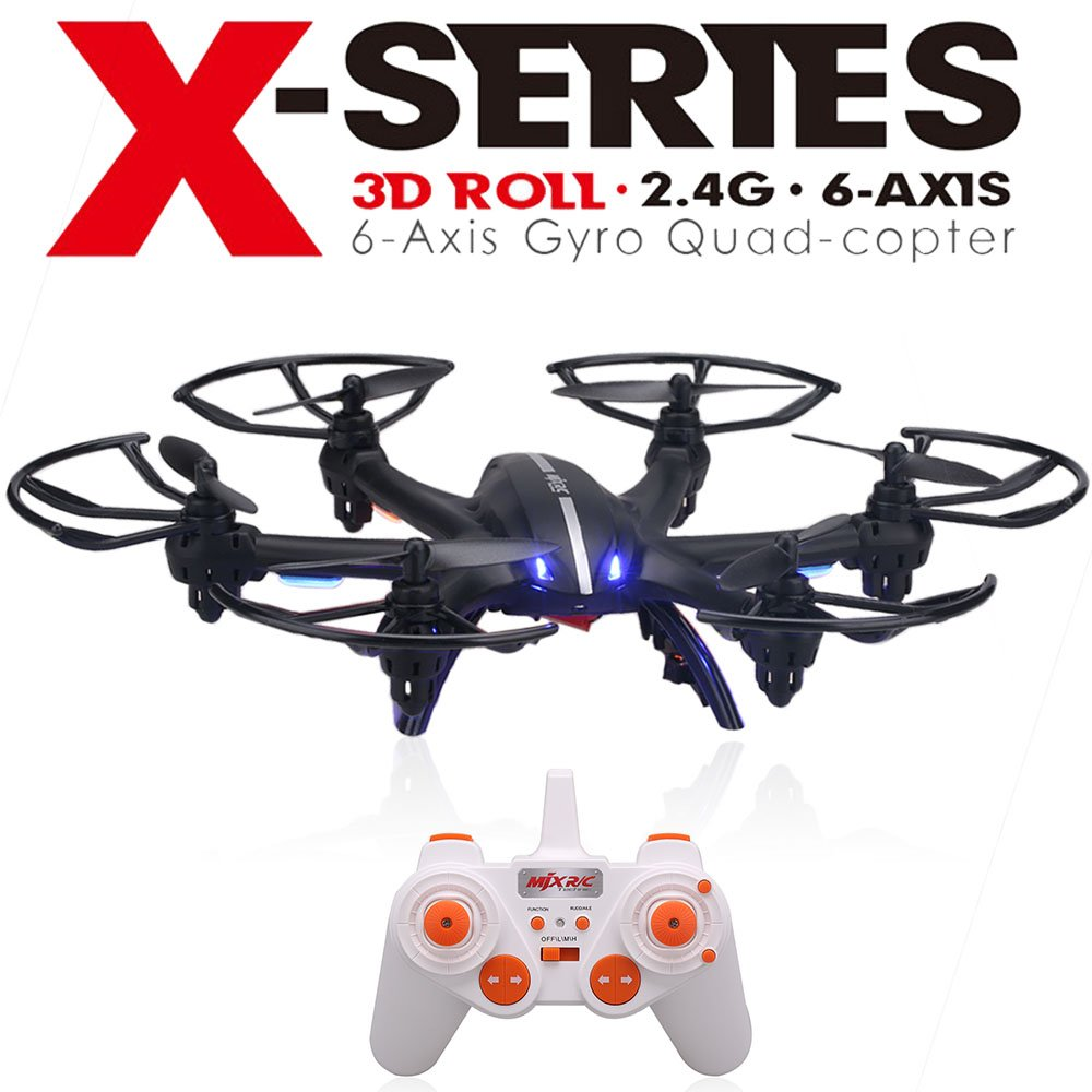 Amazon.com: MJX X800 2.4G RC Quadcopter Drone Hexacopter 4 Channel ...