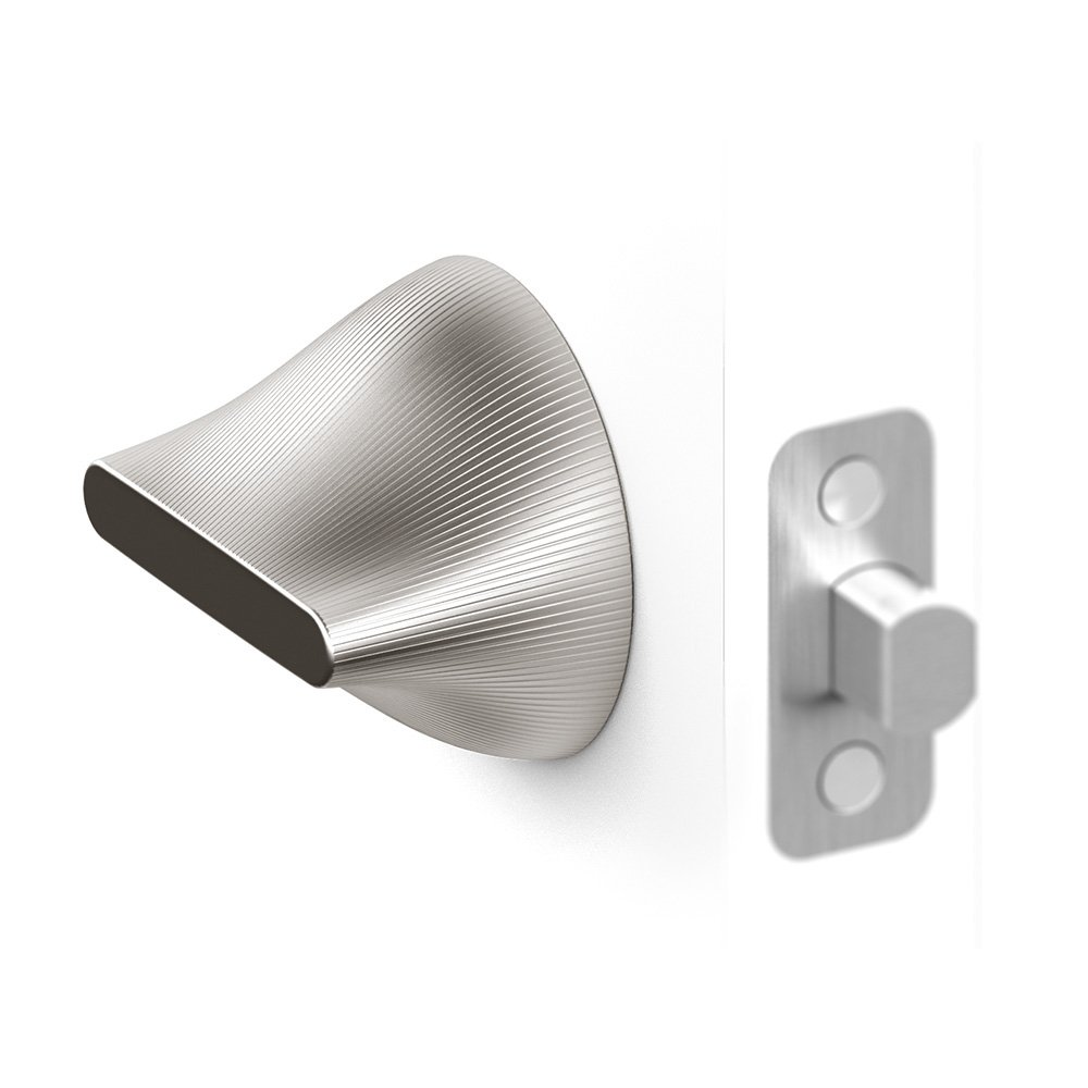 Friday Labs Nickel Satin FLNS Wireless Smart Door Lock, Smart Phone Control, Bluetooth & Apple HomeKit Compatible, iPhone & Android Compatible, Finished Shell & Door Plate, Single Cylinder deadbolt