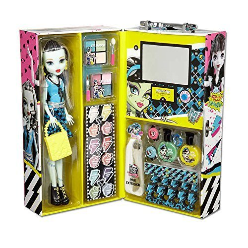 Monster High Band Dress Up (Monster High Frankie Fashion Doll Case with 57 pcs Ghoul Beauty)
