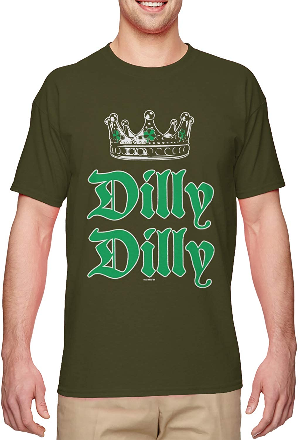 Patrick/'s Day T-Shirt Gift Idea Dilly Dilly Clover ST
