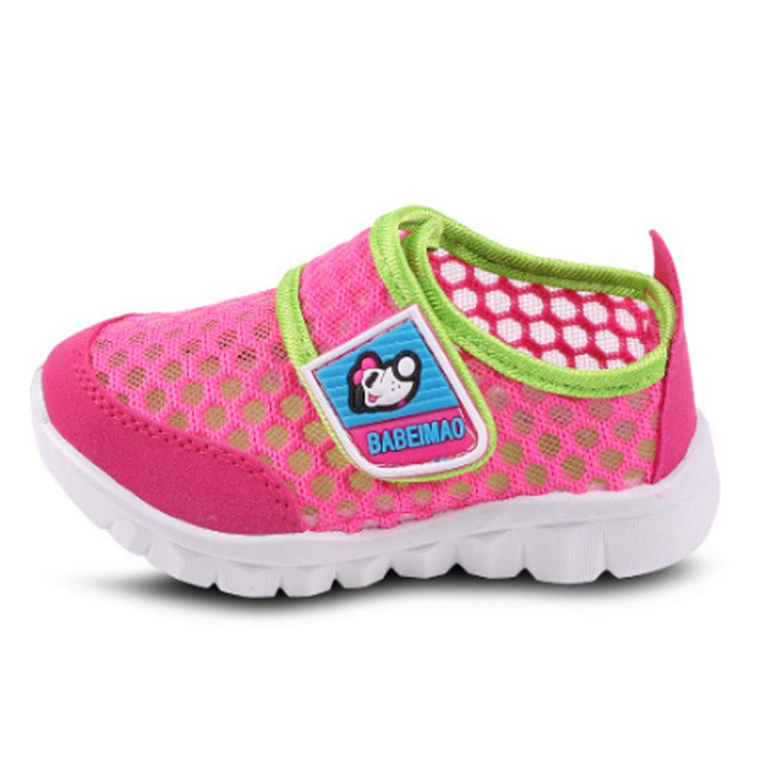 Fulision Childrens Sports shoes soft bottom slip girls mesh running shoes
