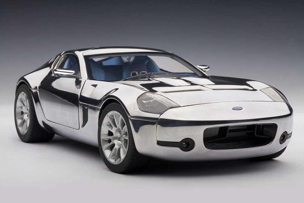 ahorrar en el despacho Ford Shelby GR-1 Concept (Aluminium) (Diecast model) model) model) (japan import)  perfecto