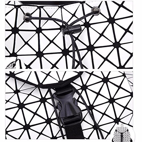 MSZYZ Holiday à à beige de Laser bandoulière sacoche voyage Sac à Gifts dos dos Sac Femme sac Lingge géométrique HHFrxdq