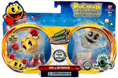Pac-Man Pac-Panic Spinners, Pac and Betrayus
