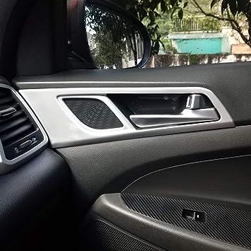 Cuenco para tirador de puerta interior de coche para Hyundai Tucson 2016-2019 ABS mate
