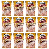 Delectables Stew Lickable Wet Cat Treats - Chicken & Tuna - 12 Pack