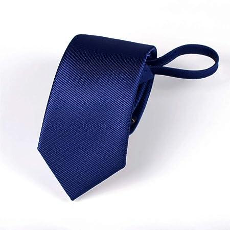 YXN Corbatas/Lazy Zip Tie/Color Puro/Traje Formal de Fiesta ...